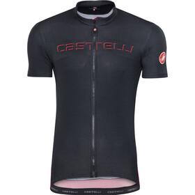 Castelli Prologo V Miehet Pyöräilypaita lyhythihainen , musta